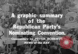 Image of Republican Party convention Chicago Illinois USA, 1960, second 8 stock footage video 65675045305