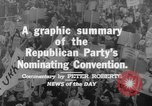 Image of Republican Party convention Chicago Illinois USA, 1960, second 9 stock footage video 65675045305