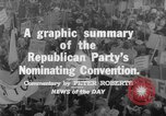 Image of Republican Party convention Chicago Illinois USA, 1960, second 10 stock footage video 65675045305