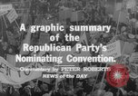 Image of Republican Party convention Chicago Illinois USA, 1960, second 11 stock footage video 65675045305