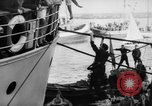 Image of people at harbor Middle East, 1947, second 10 stock footage video 65675045316