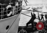 Image of people at harbor Middle East, 1947, second 11 stock footage video 65675045316