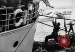 Image of people at harbor Middle East, 1947, second 12 stock footage video 65675045316