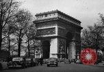 Image of dignitaries Paris France, 1945, second 3 stock footage video 65675045317