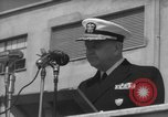 Image of U.S. Admiral William M. Fechteler Naples Italy, 1954, second 8 stock footage video 65675045320
