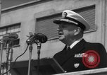 Image of U.S. Admiral William M. Fechteler Naples Italy, 1954, second 9 stock footage video 65675045320