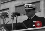 Image of U.S. Admiral William M. Fechteler Naples Italy, 1954, second 10 stock footage video 65675045320