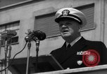 Image of U.S. Admiral William M. Fechteler Naples Italy, 1954, second 11 stock footage video 65675045320