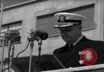 Image of U.S. Admiral William M. Fechteler Naples Italy, 1954, second 12 stock footage video 65675045320