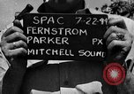 Image of Introductions before air show Spokane Washington USA, 1944, second 1 stock footage video 65675045362