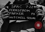 Image of Introductions before air show Spokane Washington USA, 1944, second 6 stock footage video 65675045362