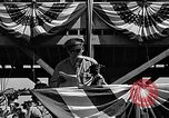 Image of Introductions before air show Spokane Washington USA, 1944, second 8 stock footage video 65675045362