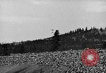 Image of air show Spokane Washington, 1944, second 10 stock footage video 65675045364