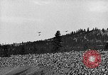 Image of air show Spokane Washington, 1944, second 12 stock footage video 65675045364