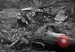 Image of Crash site of B-29A number 42-65283 Tinian Island Mariana Islands, 1945, second 12 stock footage video 65675045365