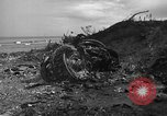 Image of B-29 crash Tinian Island Mariana Islands, 1945, second 9 stock footage video 65675045366