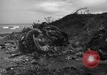 Image of B-29 crash Tinian Island Mariana Islands, 1945, second 10 stock footage video 65675045366