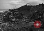 Image of B-29 crash Tinian Island Mariana Islands, 1945, second 11 stock footage video 65675045366