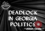 Image of governorship rivalry Atlanta Georgia USA, 1947, second 2 stock footage video 65675045372