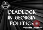 Image of governorship rivalry Atlanta Georgia USA, 1947, second 3 stock footage video 65675045372
