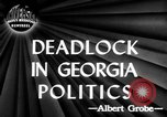 Image of governorship rivalry Atlanta Georgia USA, 1947, second 4 stock footage video 65675045372