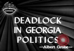 Image of governorship rivalry Atlanta Georgia USA, 1947, second 5 stock footage video 65675045372