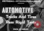 Image of automotive trials United States USA, 1951, second 6 stock footage video 65675045382