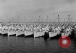 Image of war vessels San Diego California USA, 1951, second 10 stock footage video 65675045386