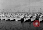 Image of war vessels San Diego California USA, 1951, second 11 stock footage video 65675045386