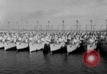 Image of war vessels San Diego California USA, 1951, second 12 stock footage video 65675045386