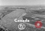 Image of flood Quebec Canada, 1951, second 1 stock footage video 65675045392