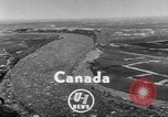 Image of flood Quebec Canada, 1951, second 2 stock footage video 65675045392