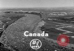 Image of flood Quebec Canada, 1951, second 3 stock footage video 65675045392