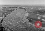 Image of flood Quebec Canada, 1951, second 4 stock footage video 65675045392