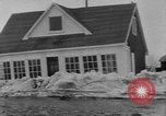 Image of flood Quebec Canada, 1951, second 12 stock footage video 65675045392