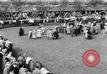 Image of Nickel Coin wins British Grand National Steeplechase  Aintree England United Kingdom, 1951, second 11 stock footage video 65675045393