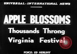 Image of twenty-fourth Shenandoah Apple Festival Winchester Virginia USA, 1951, second 1 stock footage video 65675045397