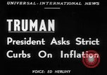 Image of President Harry S Truman Washington DC USA, 1951, second 12 stock footage video 65675045398