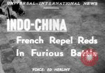 Image of French troops Indochina, 1951, second 1 stock footage video 65675045399