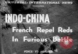 Image of French troops Indochina, 1951, second 4 stock footage video 65675045399