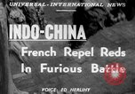 Image of French troops Indochina, 1951, second 5 stock footage video 65675045399