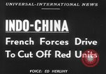 Image of French troops battle in Indochina Vietnam Indochina, 1952, second 2 stock footage video 65675045405