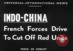 Image of French troops battle in Indochina Vietnam Indochina, 1952, second 4 stock footage video 65675045405