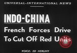 Image of French troops battle in Indochina Vietnam Indochina, 1952, second 5 stock footage video 65675045405