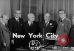 Image of Look Magazine Motion Picture Pioneer award 1952 New York City USA, 1952, second 1 stock footage video 65675045407