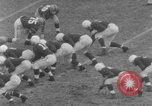 Image of football match Connecticut USA, 1952, second 5 stock footage video 65675045410