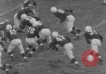 Image of football match Connecticut USA, 1952, second 6 stock footage video 65675045410