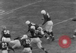 Image of football match Connecticut USA, 1952, second 9 stock footage video 65675045410