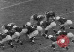 Image of football match Connecticut USA, 1952, second 11 stock footage video 65675045410