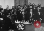 Image of Adolfo Ruiz Cortines Mexico, 1952, second 2 stock footage video 65675045413
